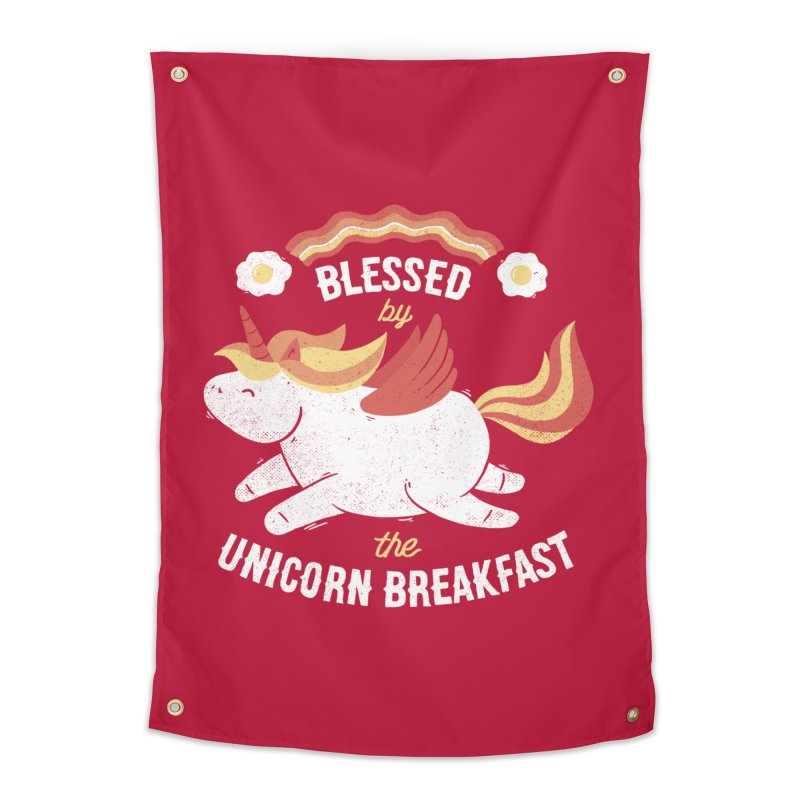 Bacon Breakfast Home Tapestry by Tobe Fonseca's Artist Shop