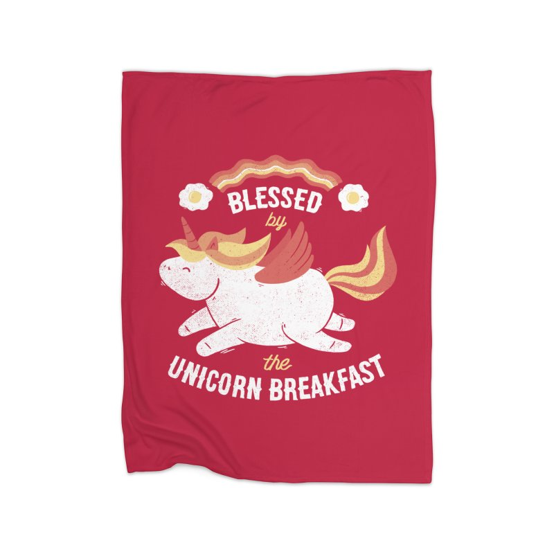 Bacon Breakfast Home Blanket by Tobe Fonseca's Artist Shop