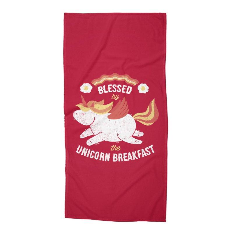 Bacon Breakfast Accessories Beach Towel by Tobe Fonseca's Artist Shop