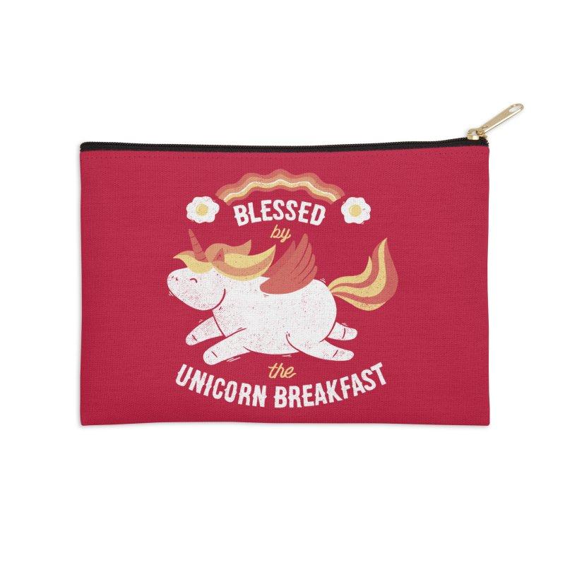 Bacon Breakfast Accessories Zip Pouch by Tobe Fonseca's Artist Shop