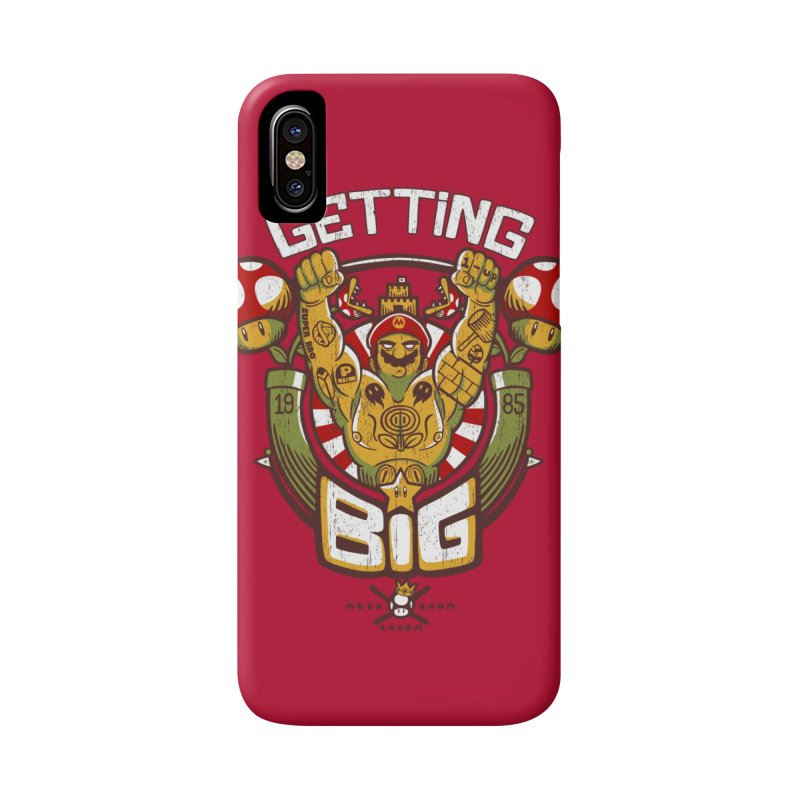 Getting Big Red Accessories Phone Case by Tobe Fonseca's Artist Shop