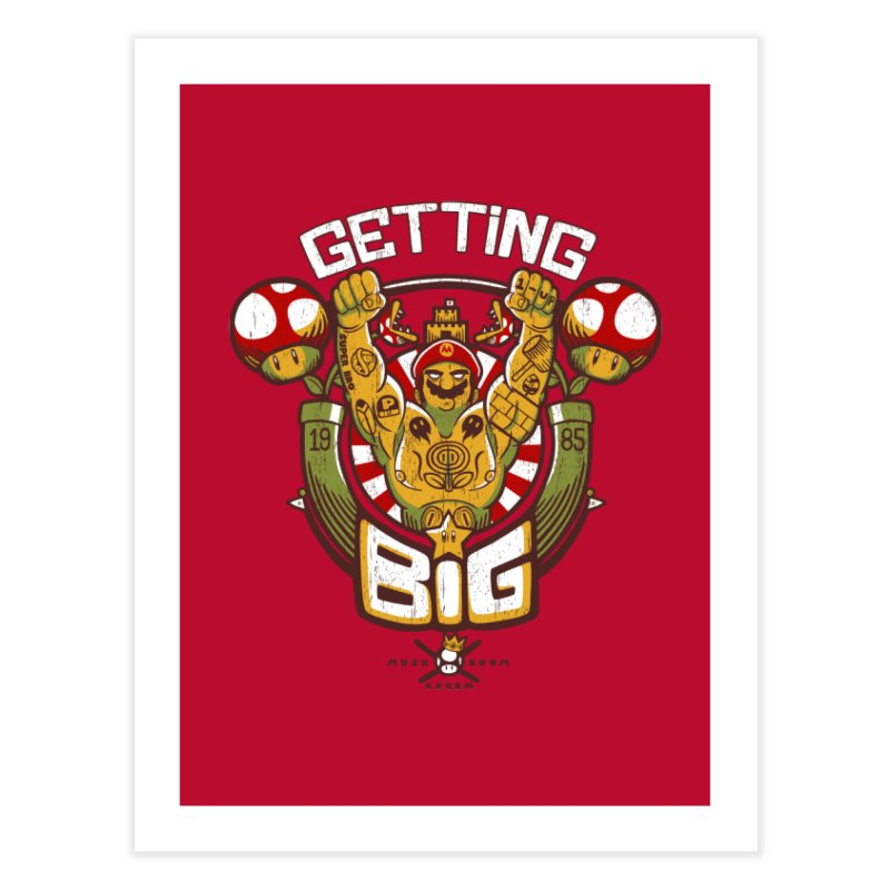 Getting Big Red Home Fine Art Print by Tobe Fonseca's Artist Shop