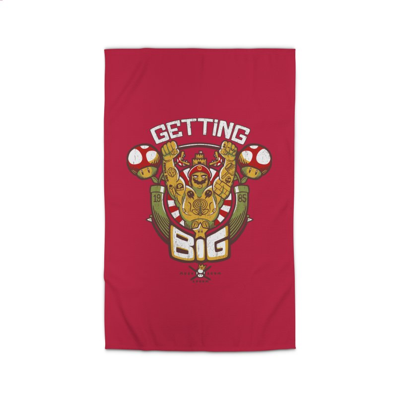 Getting Big Red Home Rug by Tobe Fonseca's Artist Shop
