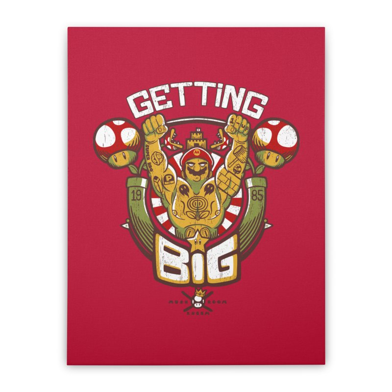 Getting Big Red Home Stretched Canvas by Tobe Fonseca's Artist Shop