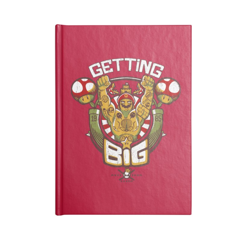 Getting Big Red Accessories Notebook by Tobe Fonseca's Artist Shop