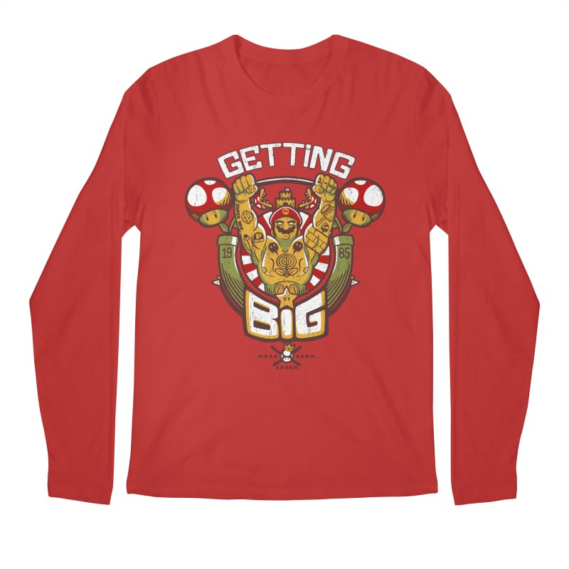 Getting Big Red Men's Longsleeve T-Shirt by Tobe Fonseca's Artist Shop