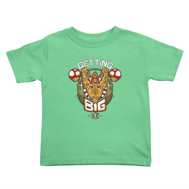Getting Big Red Kids Toddler T-Shirt by Tobe Fonseca's Artist Shop