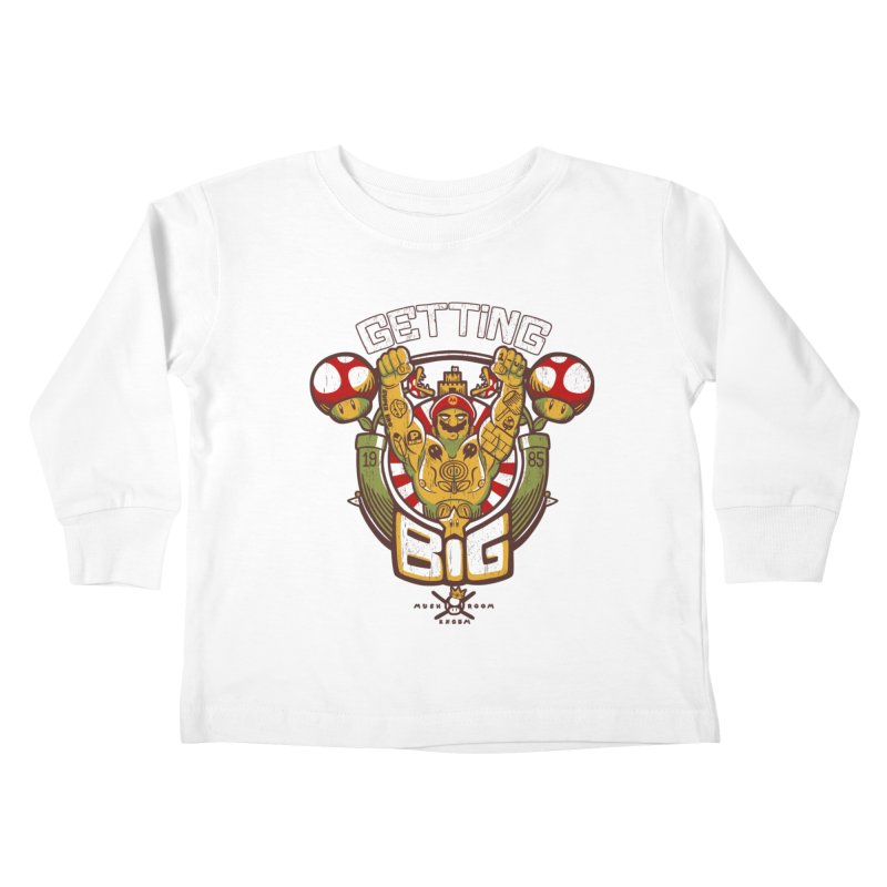 Getting Big Red Kids Toddler Longsleeve T-Shirt by Tobe Fonseca's Artist Shop
