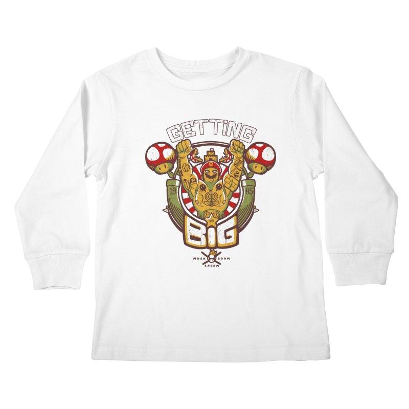 Getting Big Red Kids Longsleeve T-Shirt by Tobe Fonseca's Artist Shop