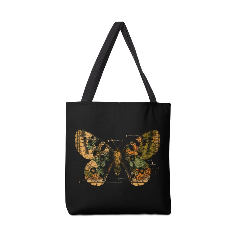 Time Flies Accessories Bag by Tobe Fonseca's Artist Shop