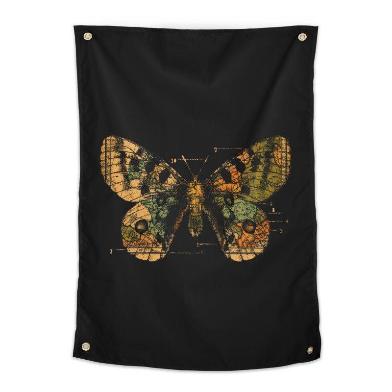 Time Flies Home Tapestry by Tobe Fonseca's Artist Shop
