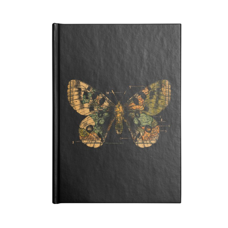 Time Flies Accessories Notebook by Tobe Fonseca's Artist Shop