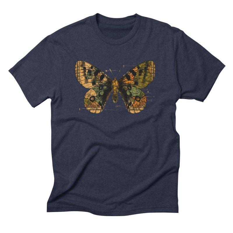 Time Flies Men's Triblend T-Shirt by Tobe Fonseca's Artist Shop