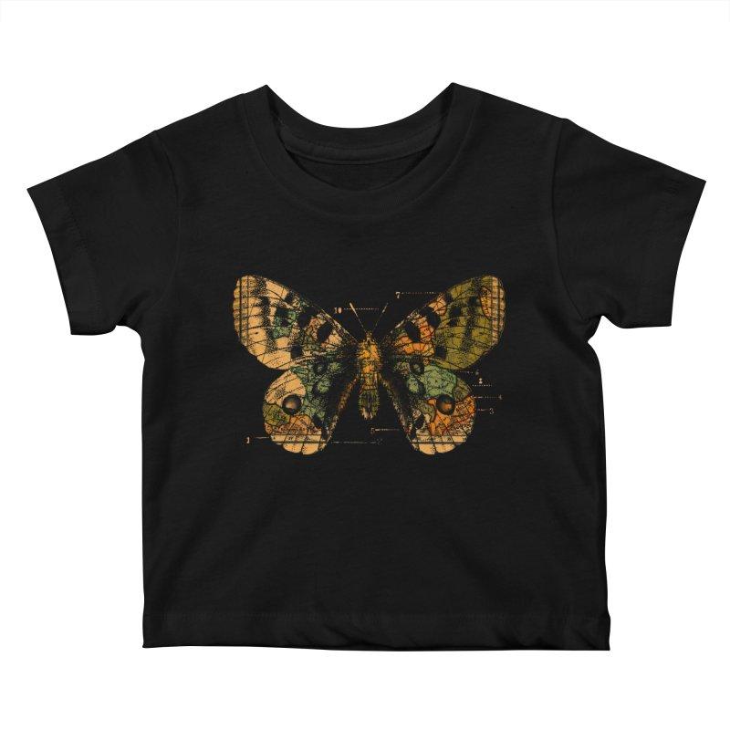 Time Flies Kids Baby T-Shirt by Tobe Fonseca's Artist Shop