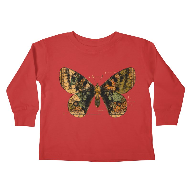Time Flies Kids Toddler Longsleeve T-Shirt by Tobe Fonseca's Artist Shop