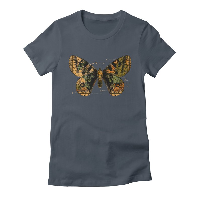 Time Flies Women's Fitted T-Shirt by Tobe Fonseca's Artist Shop