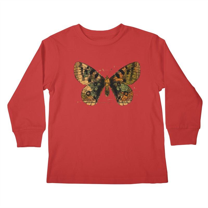 Time Flies Kids Longsleeve T-Shirt by Tobe Fonseca's Artist Shop