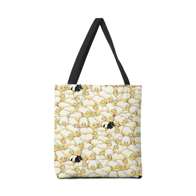 Find The Spy Pattern Accessories Bag by Tobe Fonseca's Artist Shop