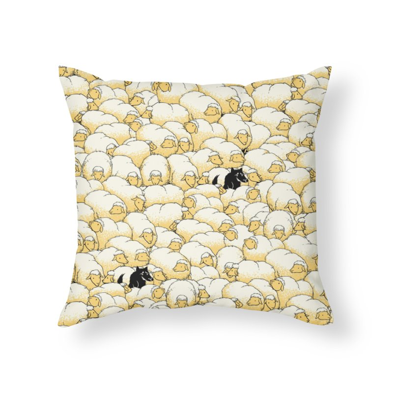 Find The Spy Pattern Home Throw Pillow by Tobe Fonseca's Artist Shop