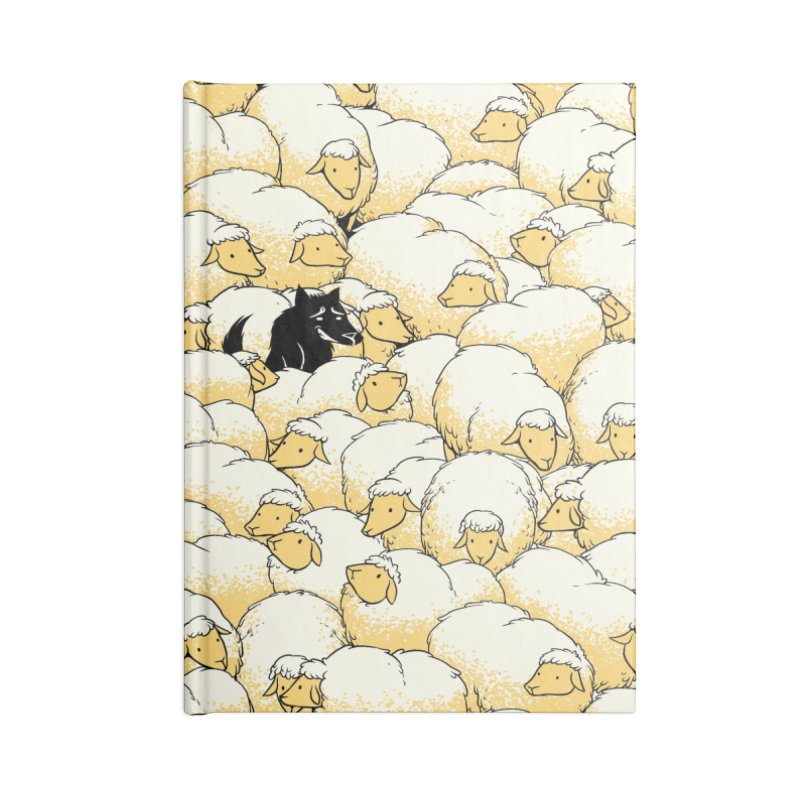 Find The Spy Pattern Accessories Notebook by Tobe Fonseca's Artist Shop