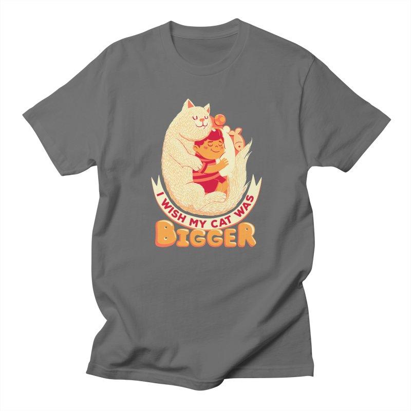 I Wish My Cat Was Bigger Men's T-Shirt by Tobe Fonseca's Artist Shop