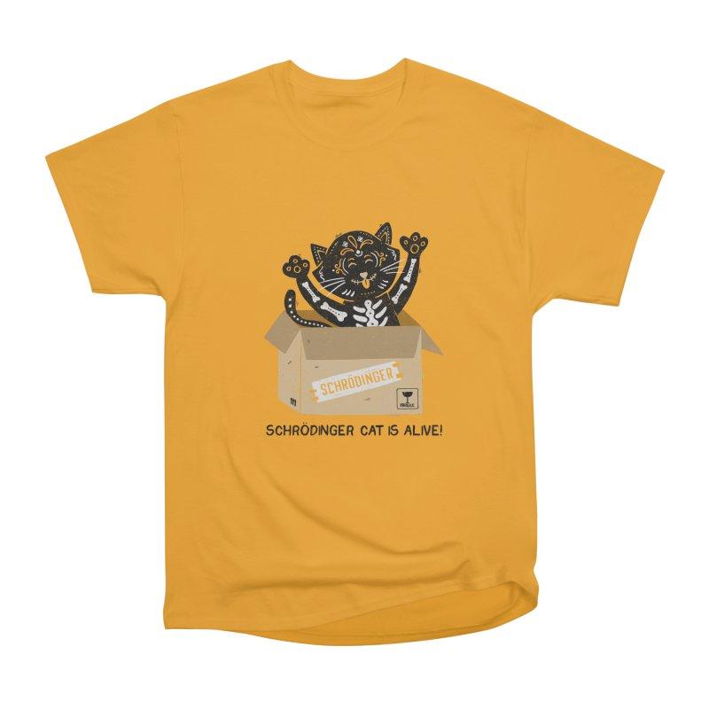 Am I Alive Schrödinger Cat Women's Classic Unisex T-Shirt by Tobe Fonseca's Artist Shop