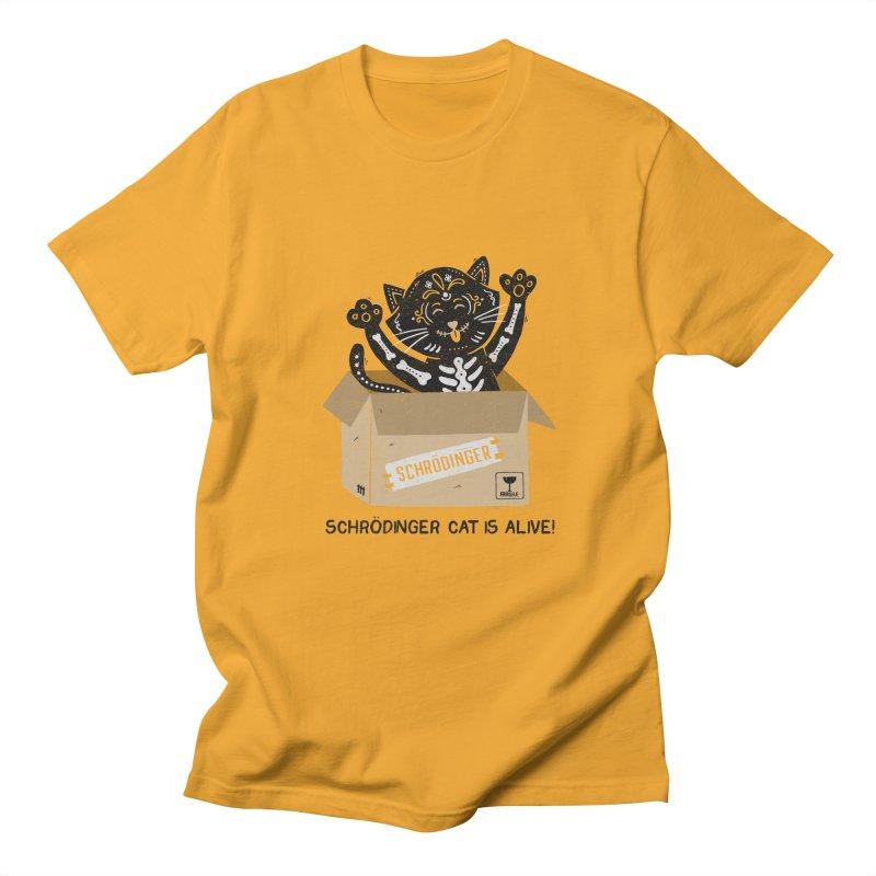 Am I Alive Schrödinger Cat Women's Unisex T-Shirt by Tobe Fonseca's Artist Shop