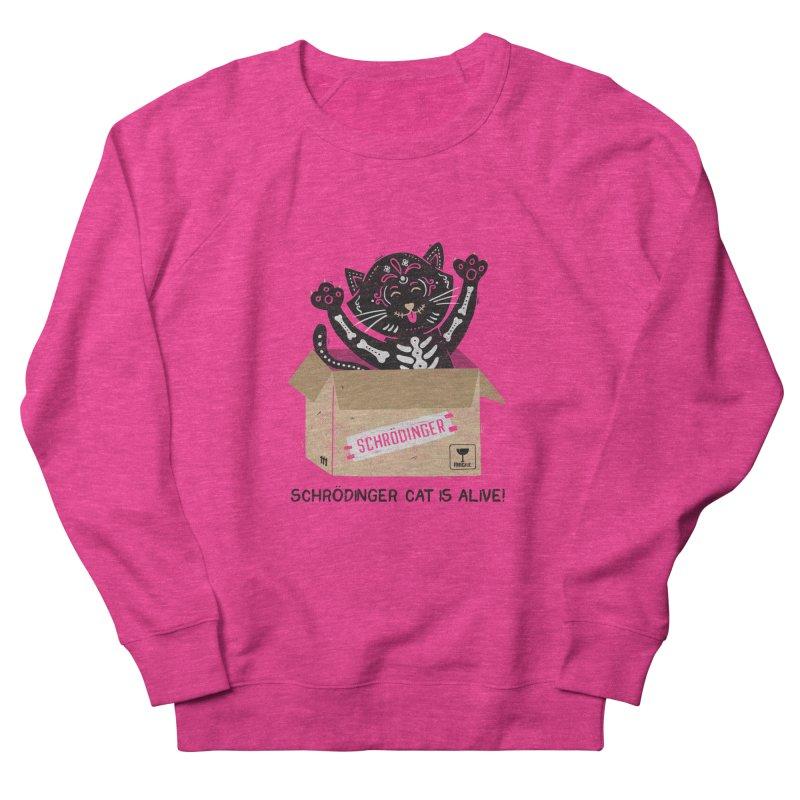 Am I Alive Schrödinger Cat Men's Sweatshirt by Tobe Fonseca's Artist Shop