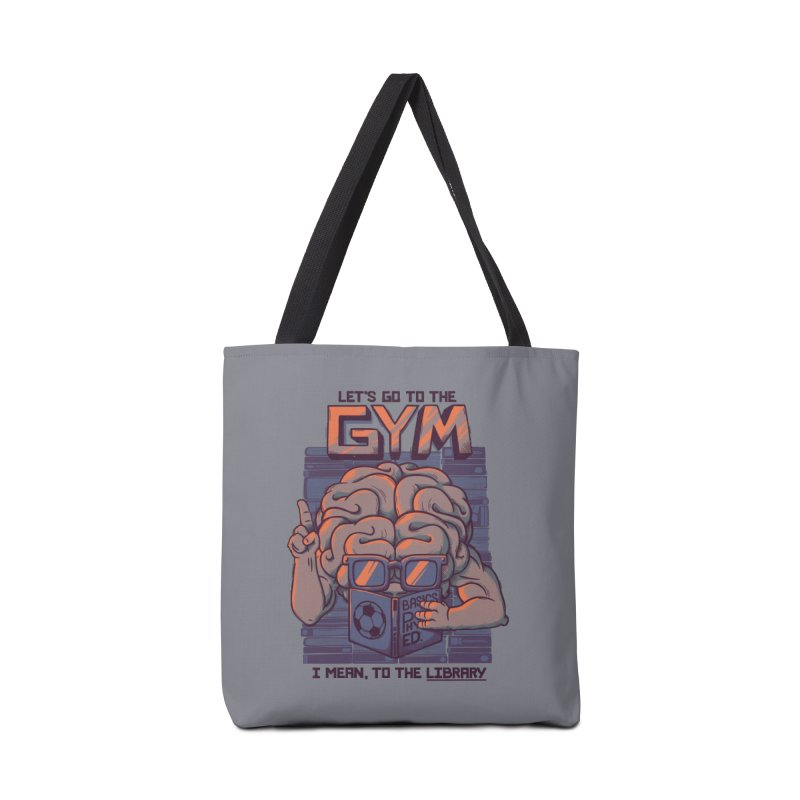 Let's go to the gym Accessories Bag by Tobe Fonseca's Artist Shop