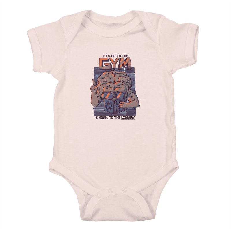 Let's go to the gym Kids Baby Bodysuit by Tobe Fonseca's Artist Shop
