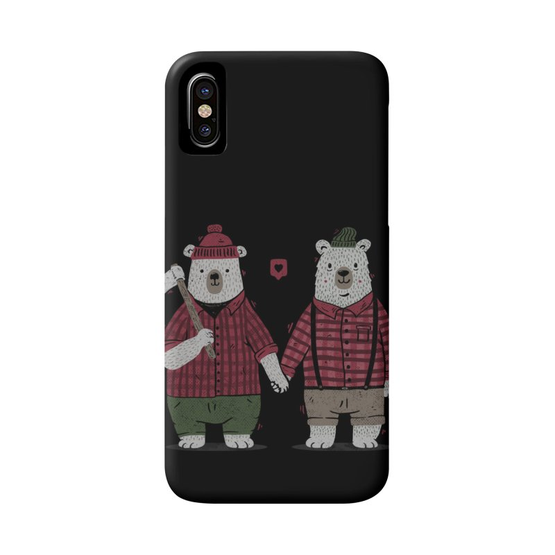 My Bear Valentine Accessories Phone Case by Tobe Fonseca's Artist Shop