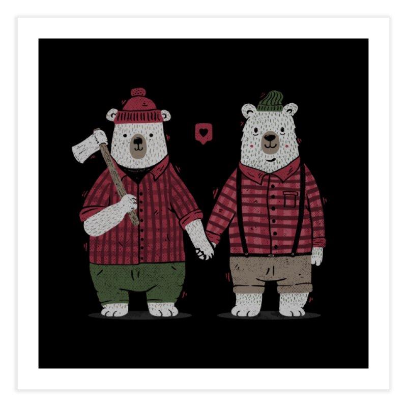 My Bear Valentine Home Fine Art Print by Tobe Fonseca's Artist Shop