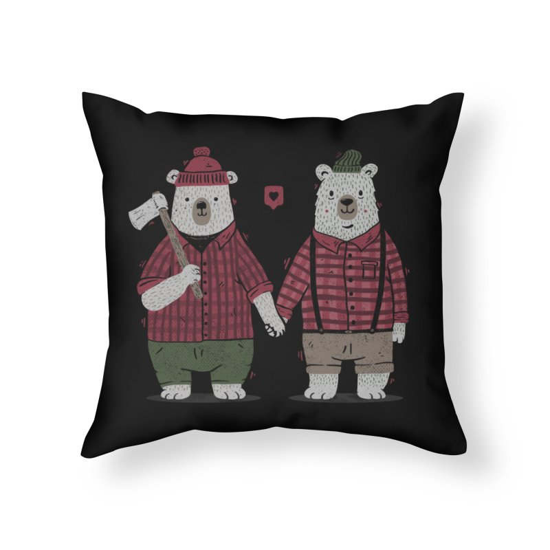 My Bear Valentine Home Throw Pillow by Tobe Fonseca's Artist Shop