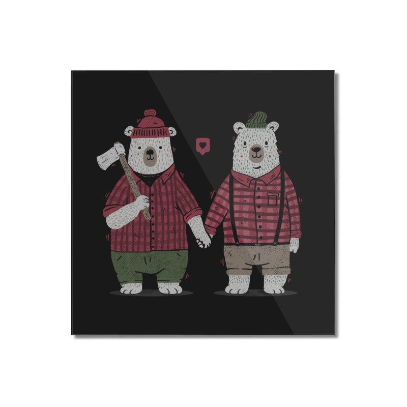 My Bear Valentine Home Mounted Acrylic Print by Tobe Fonseca's Artist Shop