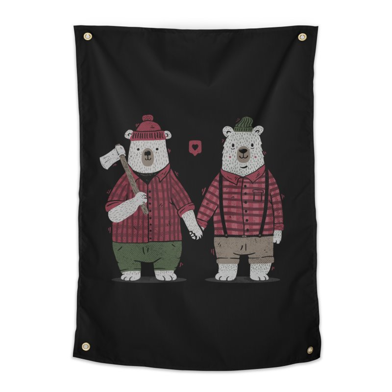 My Bear Valentine Home Tapestry by Tobe Fonseca's Artist Shop