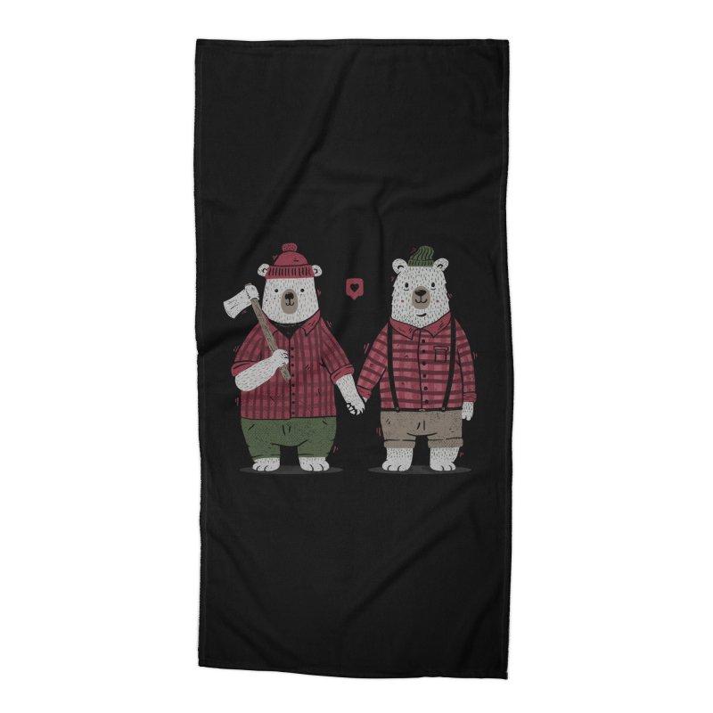My Bear Valentine Accessories Beach Towel by Tobe Fonseca's Artist Shop