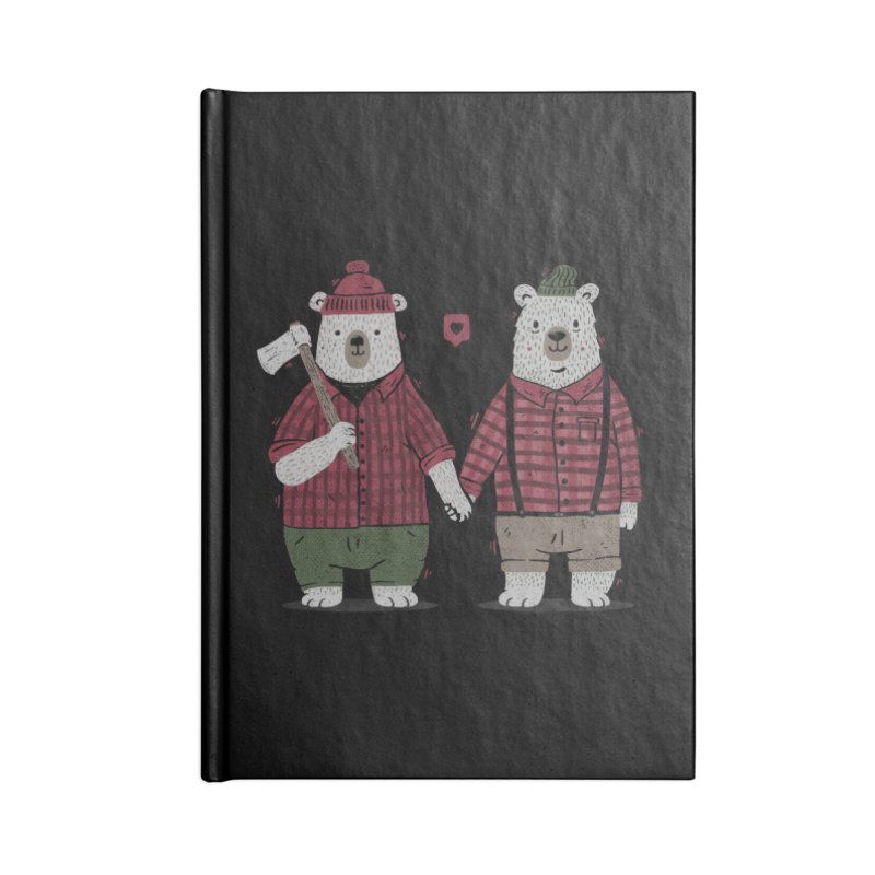 My Bear Valentine Accessories Notebook by Tobe Fonseca's Artist Shop