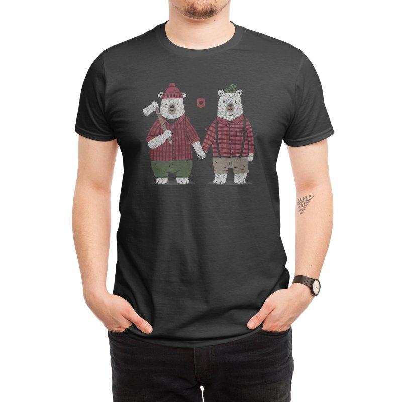My Bear Valentine Men's T-Shirt by Tobe Fonseca's Artist Shop