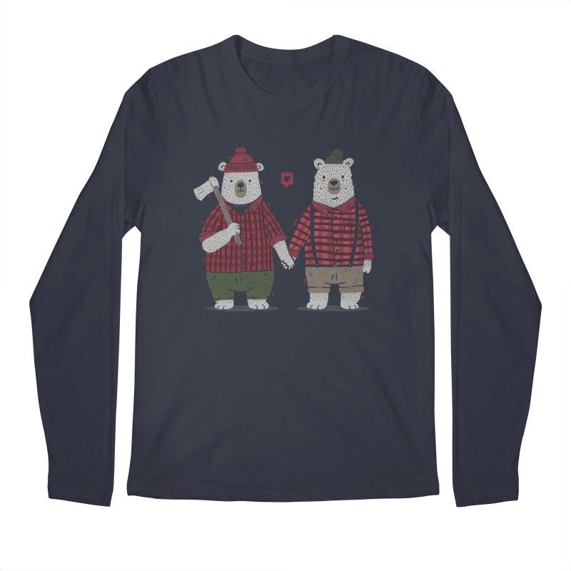 My Bear Valentine Men's Longsleeve T-Shirt by Tobe Fonseca's Artist Shop