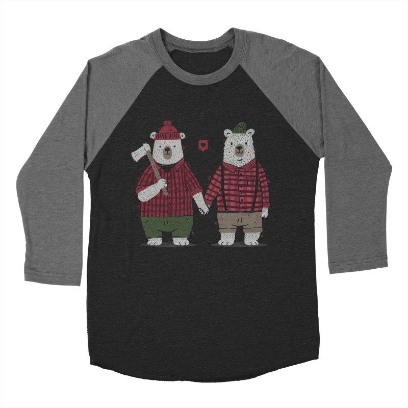 My Bear Valentine Women's Baseball Triblend T-Shirt by Tobe Fonseca's Artist Shop