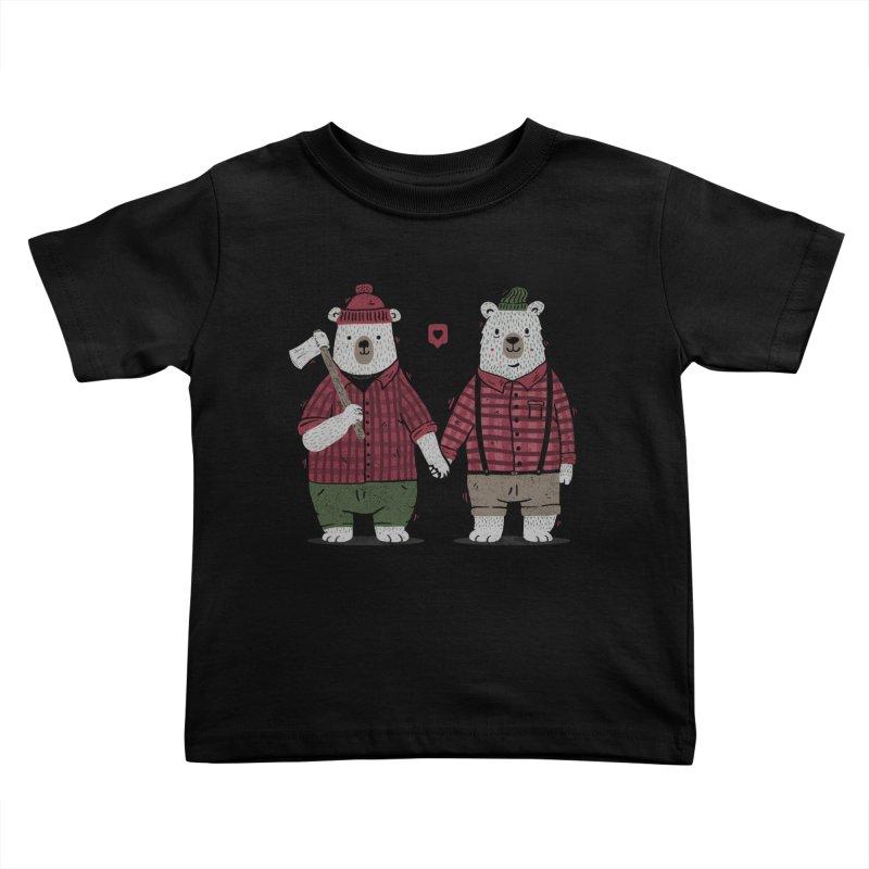 My Bear Valentine Kids Toddler T-Shirt by Tobe Fonseca's Artist Shop