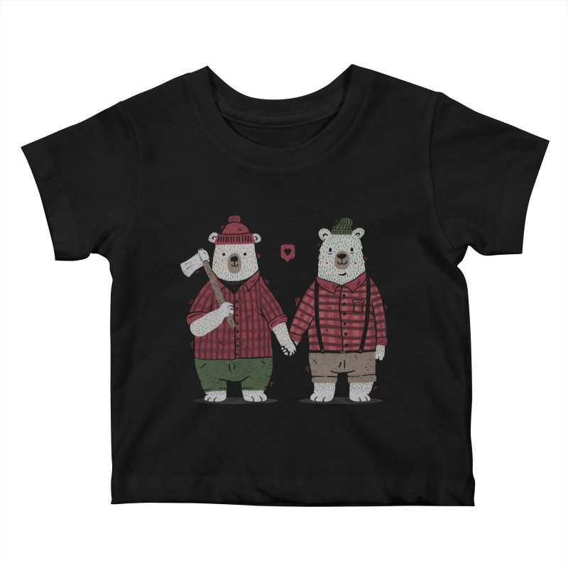 My Bear Valentine Kids Baby T-Shirt by Tobe Fonseca's Artist Shop