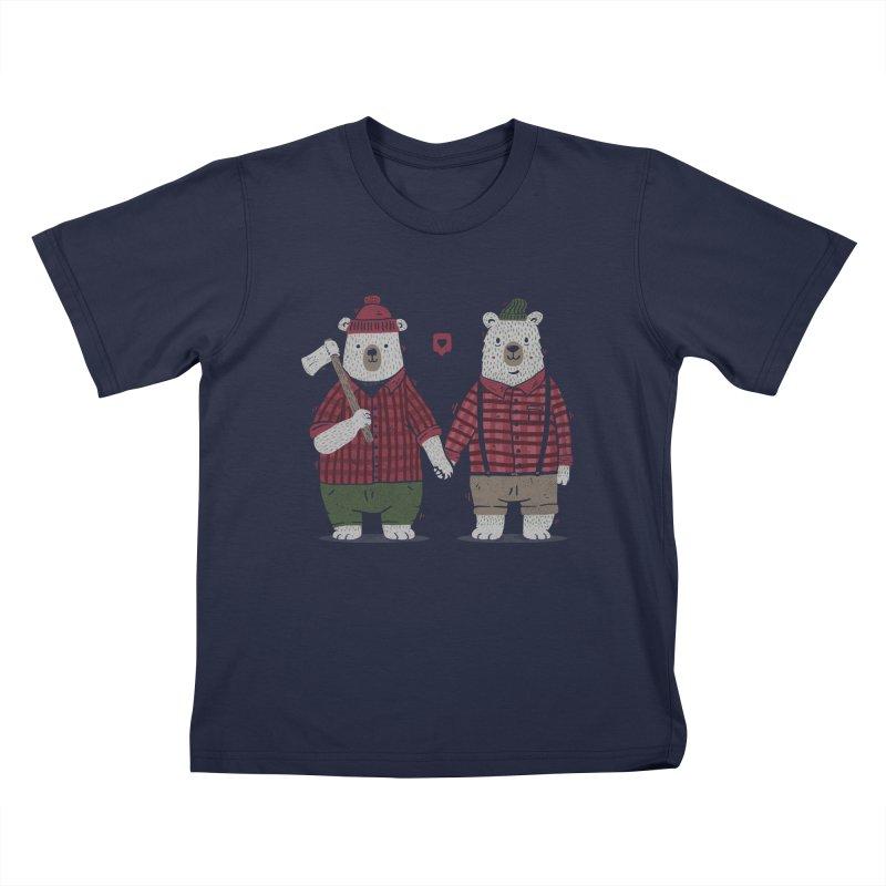 My Bear Valentine Kids T-Shirt by Tobe Fonseca's Artist Shop