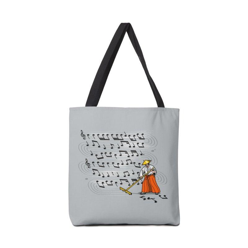 Japanese Zen Garden Song Accessories Bag by Tobe Fonseca's Artist Shop