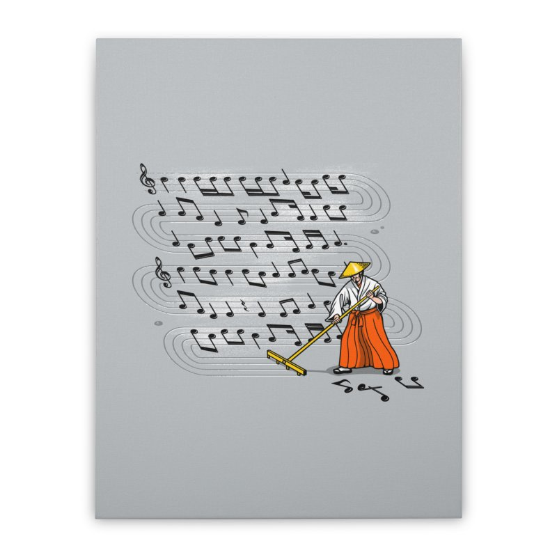 Japanese Zen Garden Song Home Stretched Canvas by Tobe Fonseca's Artist Shop