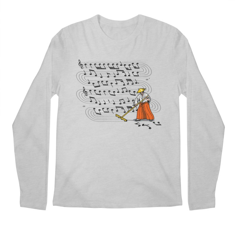 Japanese Zen Garden Song Men's Longsleeve T-Shirt by Tobe Fonseca's Artist Shop