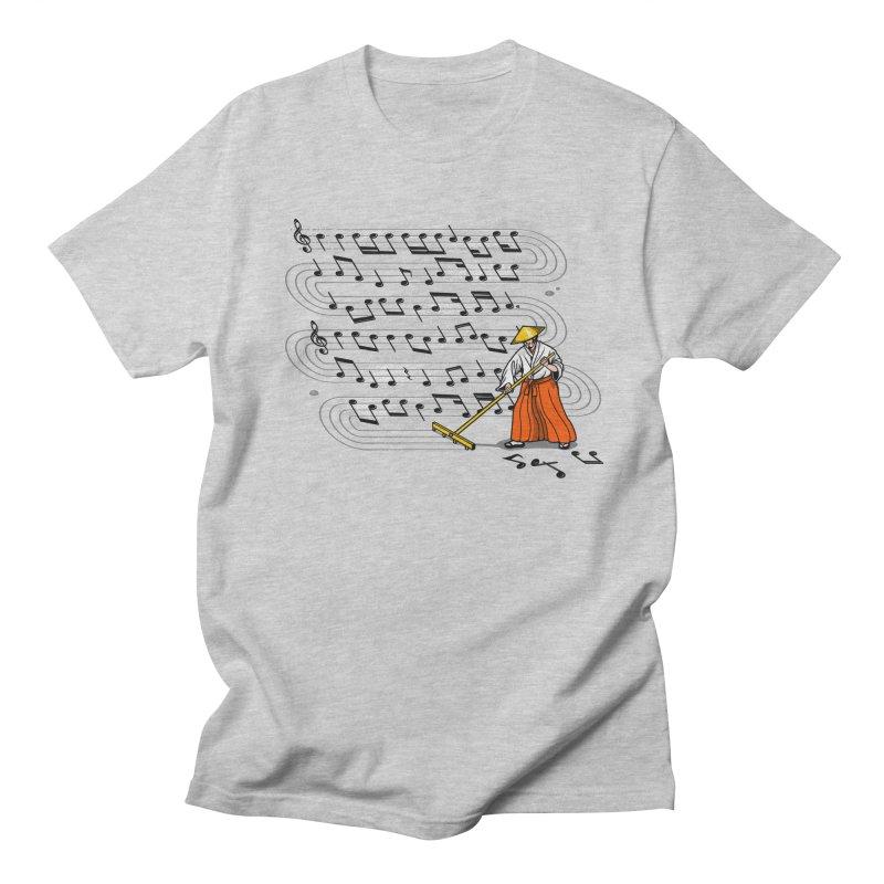 Japanese Zen Garden Song Women's Unisex T-Shirt by Tobe Fonseca's Artist Shop