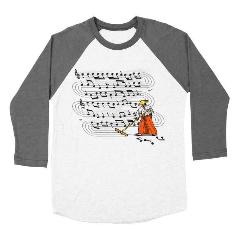 Japanese Zen Garden Song Women's Baseball Triblend T-Shirt by Tobe Fonseca's Artist Shop