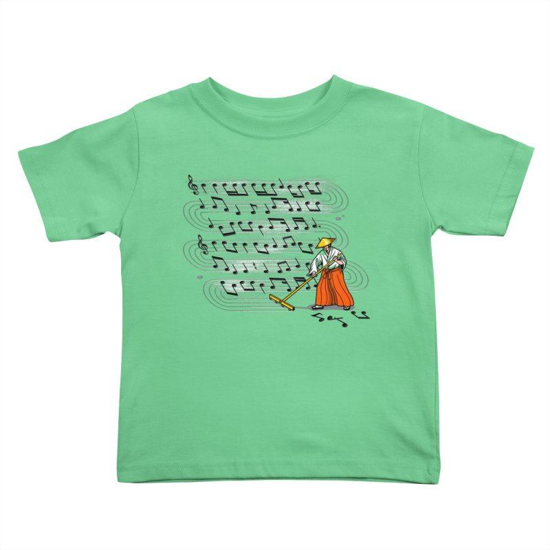 Japanese Zen Garden Song Kids Toddler T-Shirt by Tobe Fonseca's Artist Shop