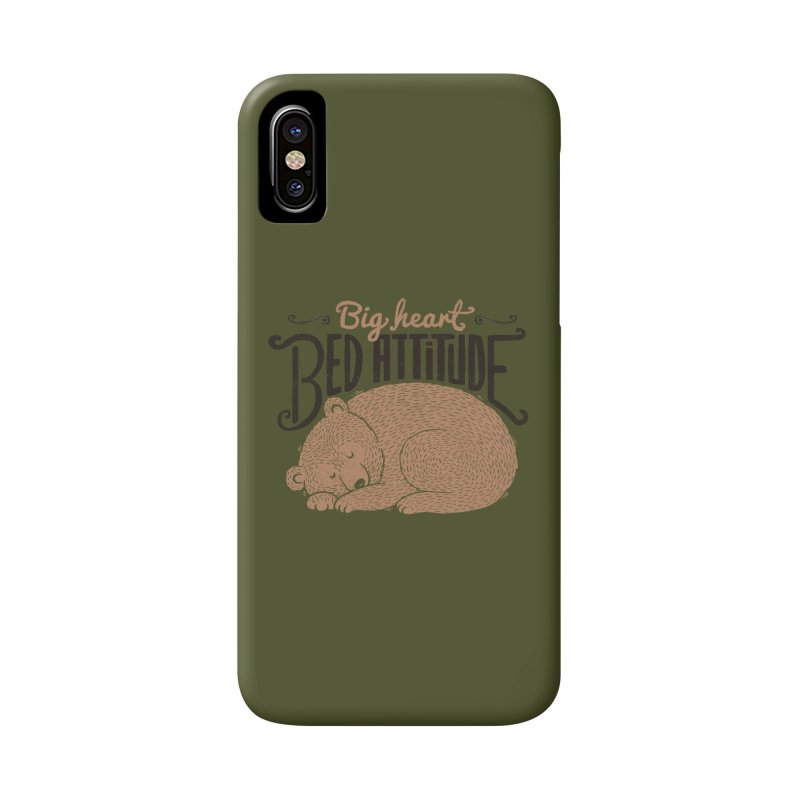 Big Heart Bed Attitude Accessories Phone Case by Tobe Fonseca's Artist Shop